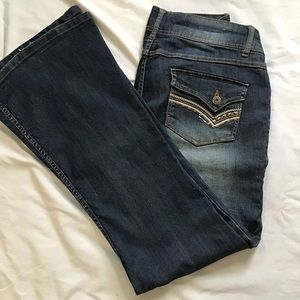 MUDD WIDE LEG JEANS SIZE 13 PREOWNED